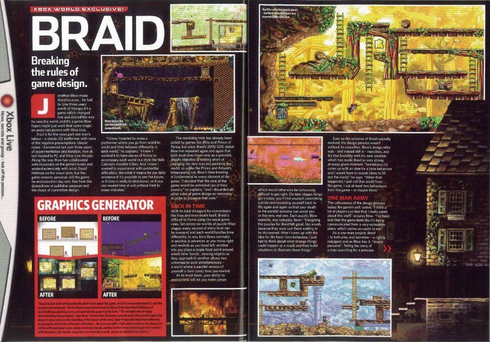 BRAID platform puzzle adventure fantasy (7) wallpaper