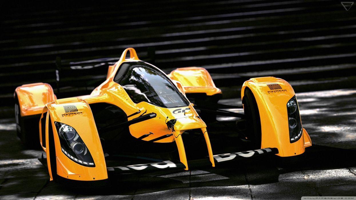 formula 1 orange car-wallpaper-2560x1440 wallpaper