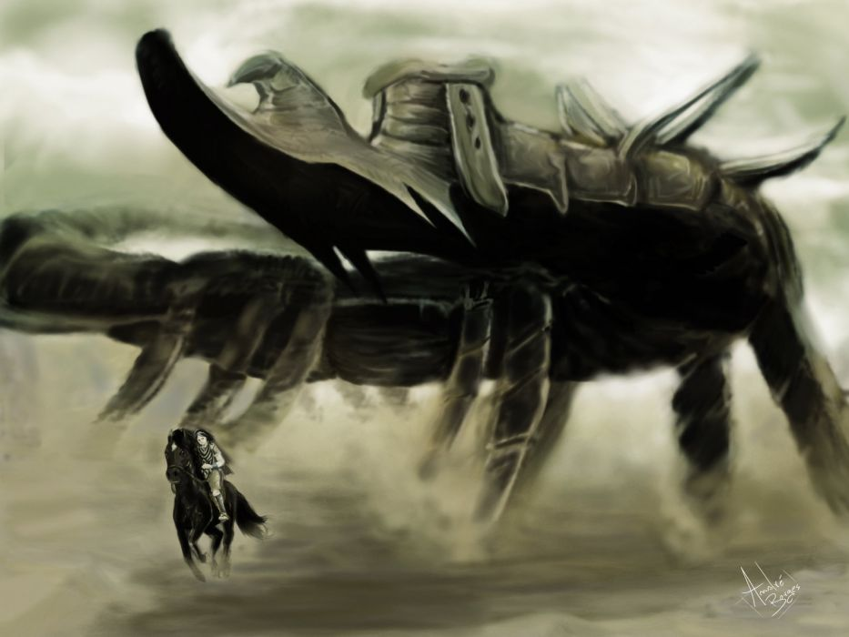SHADOW OF THE COLOSSUS action adventure fantasy (14) wallpaper