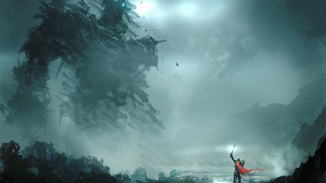 SHADOW OF THE COLOSSUS action adventure fantasy (65) wallpaper