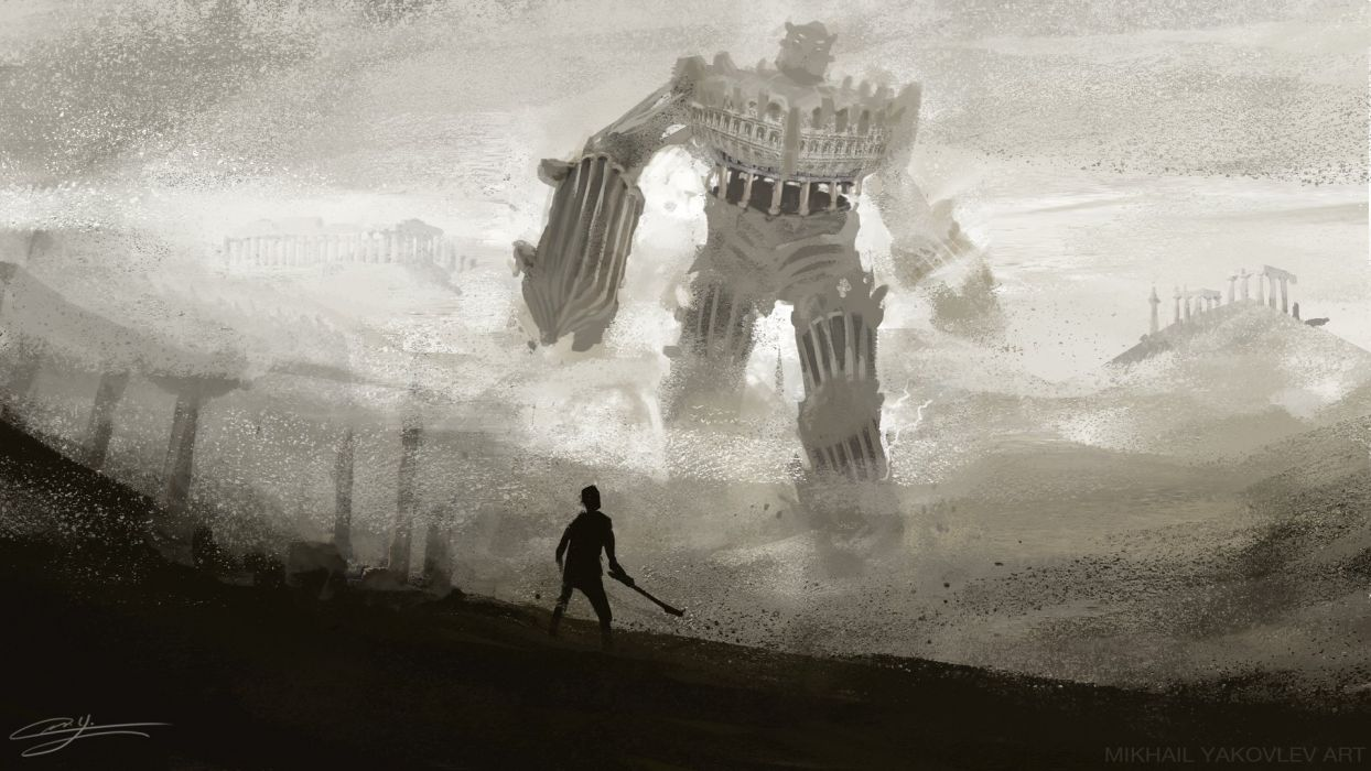 SHADOW OF THE COLOSSUS action adventure fantasy (106) wallpaper