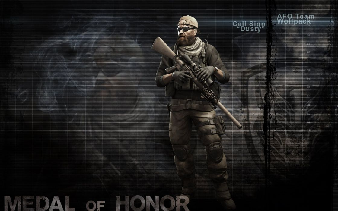 MEDAL OF HONOR shooter war warrior soldier action military (33) wallpaper