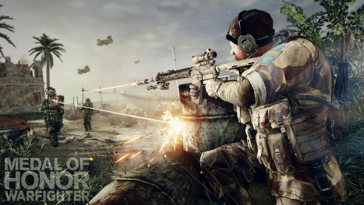 MEDAL OF HONOR shooter war warrior soldier action military (132) wallpaper
