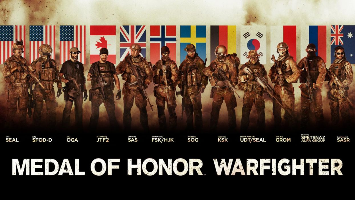 MEDAL OF HONOR shooter war warrior soldier action military (134) wallpaper