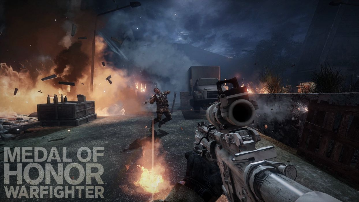 MEDAL OF HONOR shooter war warrior soldier action military (143) wallpaper