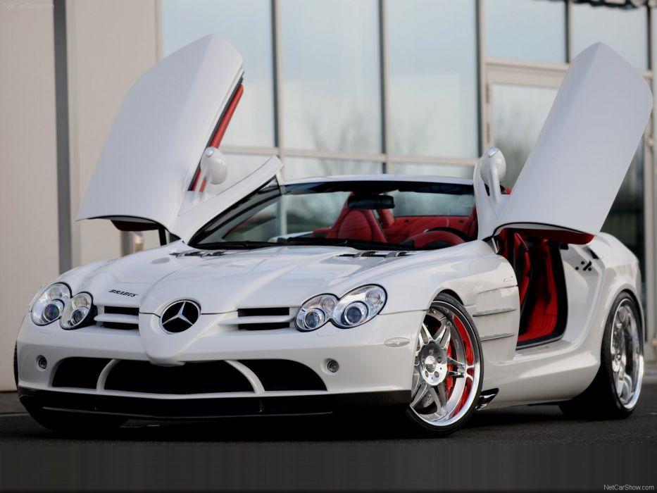 cars Brabus roadster Mercedes-Benz Mercedes-Benz SLR McLaren wallpaper