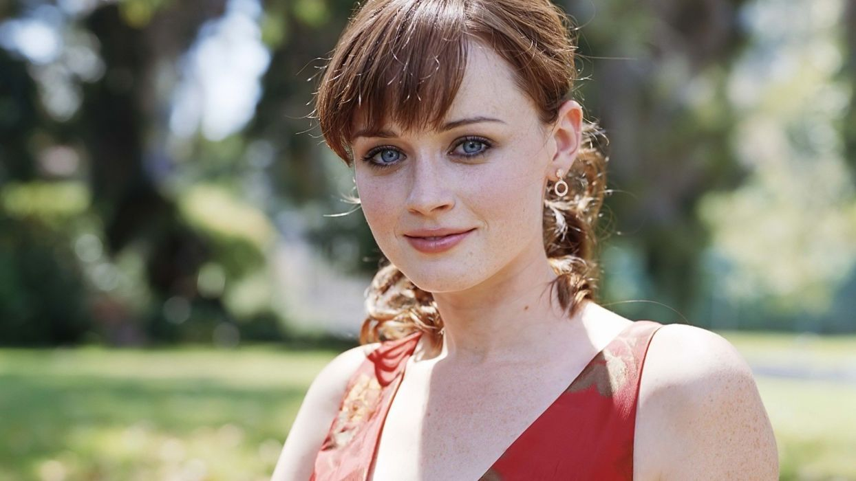 women Alexis Bledel celebrity wallpaper