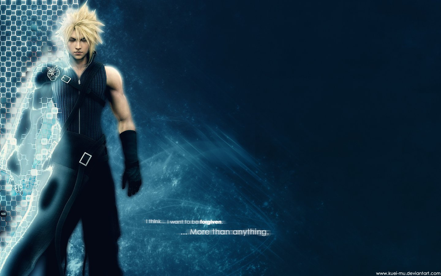 final fantasy vii advent children deviantart cloud strife