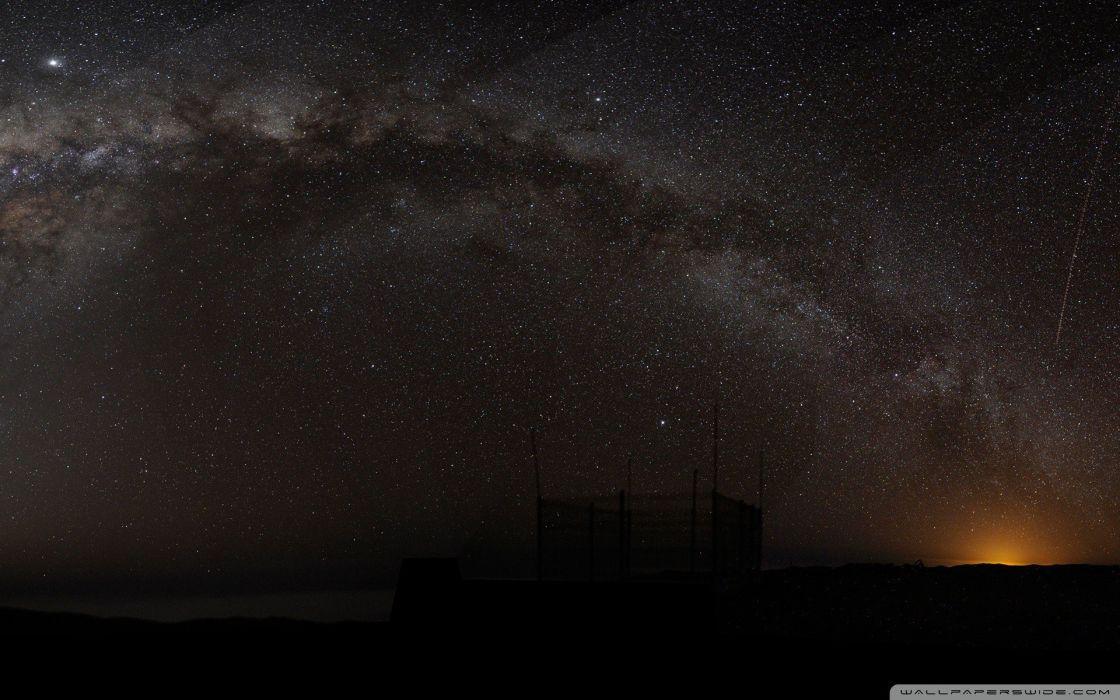 Milky Way arch wallpaper
