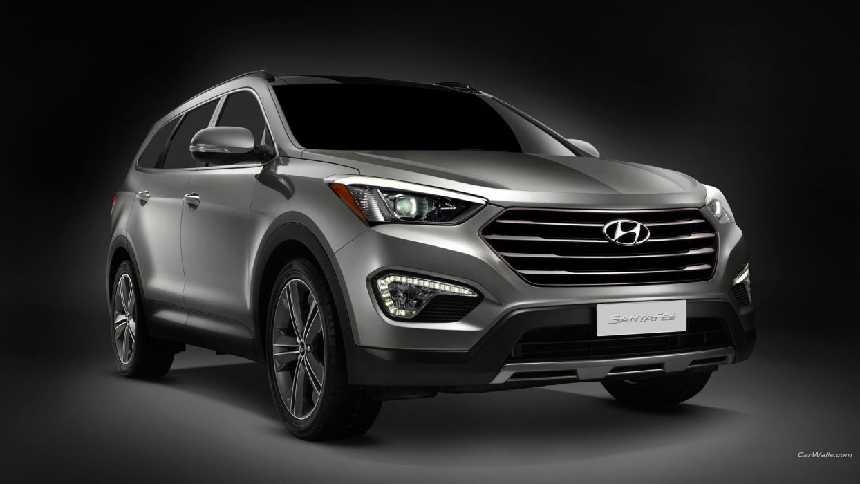 cars Hyundai Hyundai Santa Fe Santa Fe wallpaper