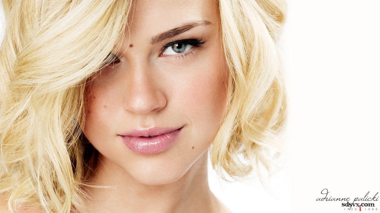 women models Adrianne Palicki white background wallpaper