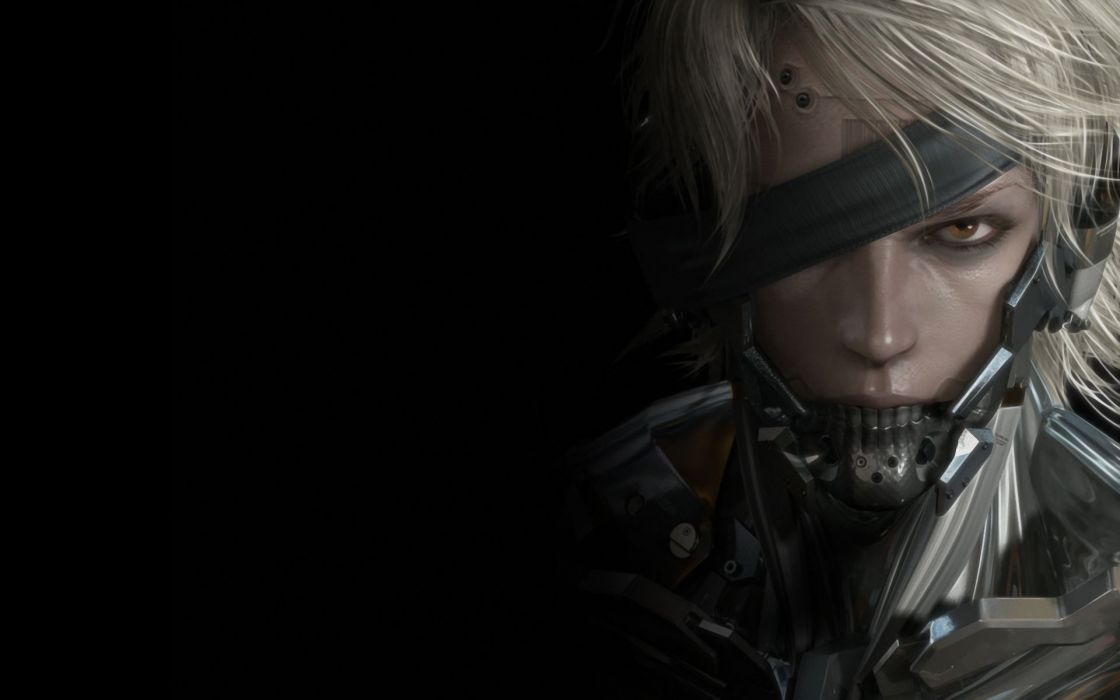video games fantasy art artwork Metal Gear Solid Rising wallpaper