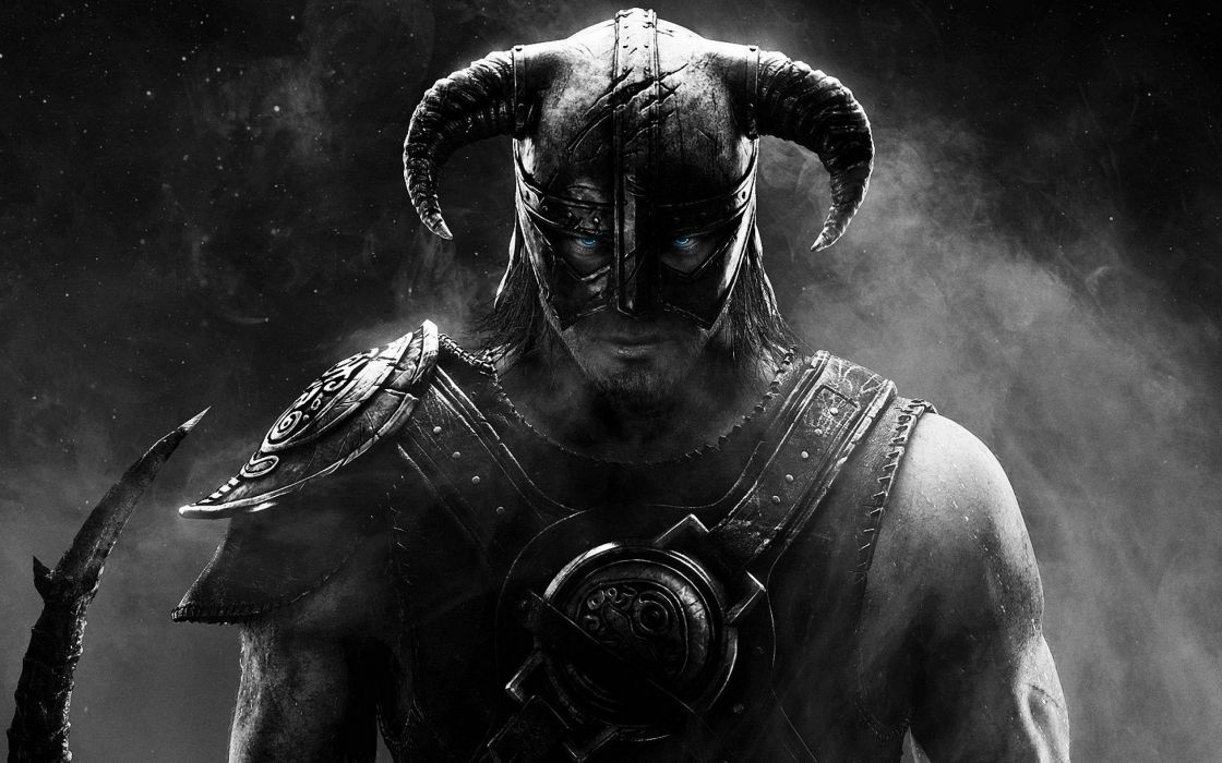video games digital art The Elder Scrolls V: Skyrim wallpaper