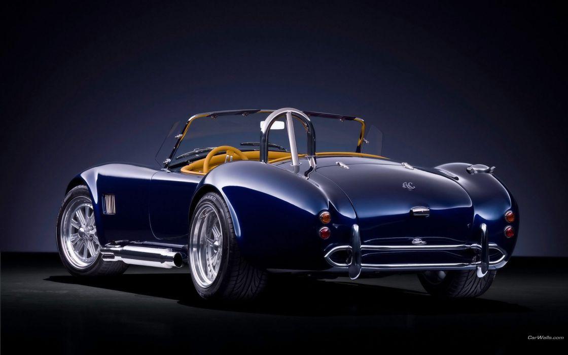 blue cobra ac cars wallpaper