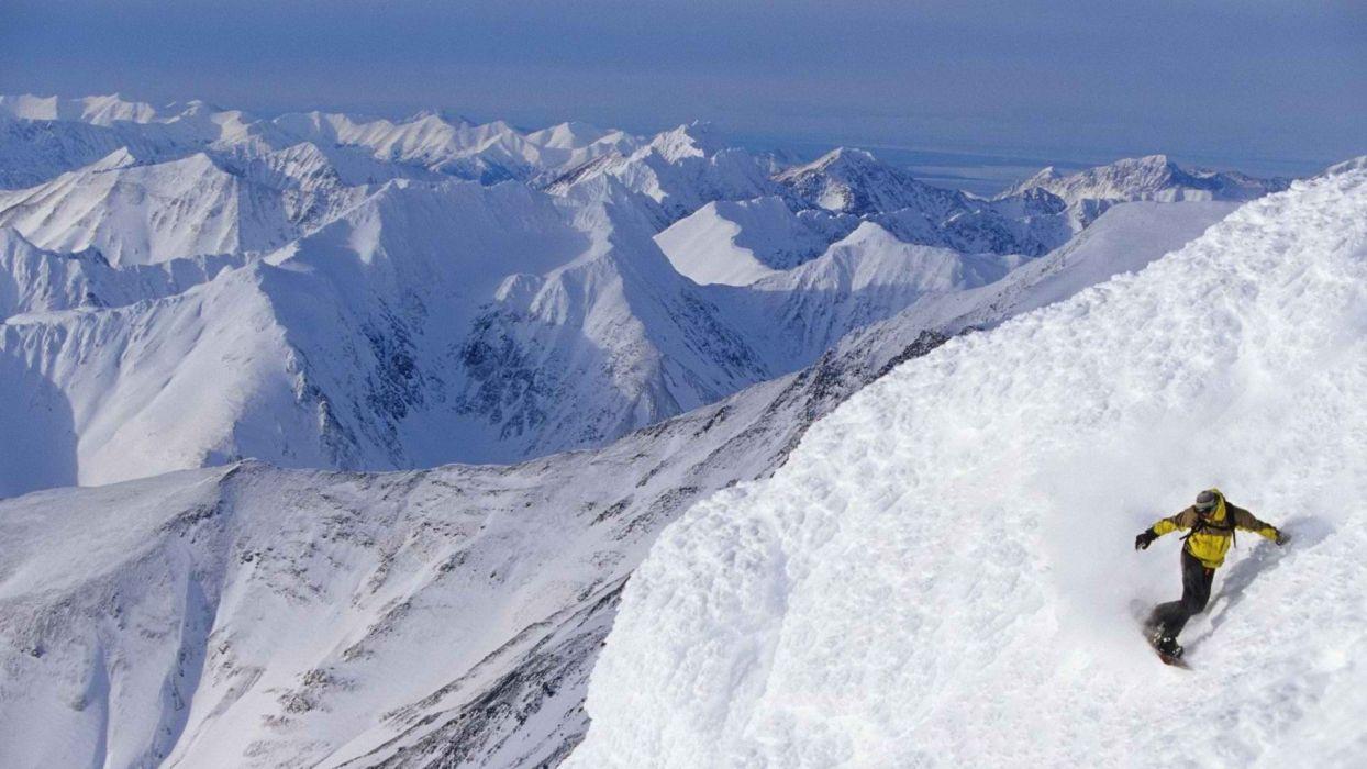 snow snowboarding wallpaper