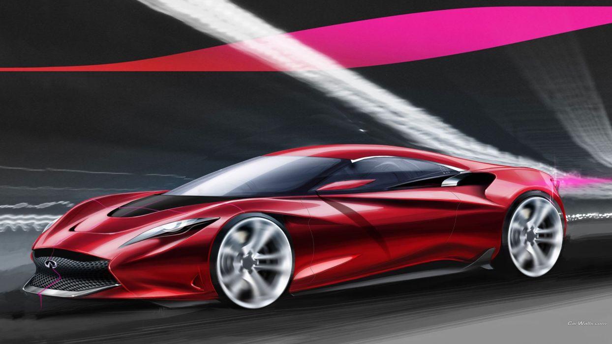 cars Infiniti Infiniti Emerg E concept car wallpaper