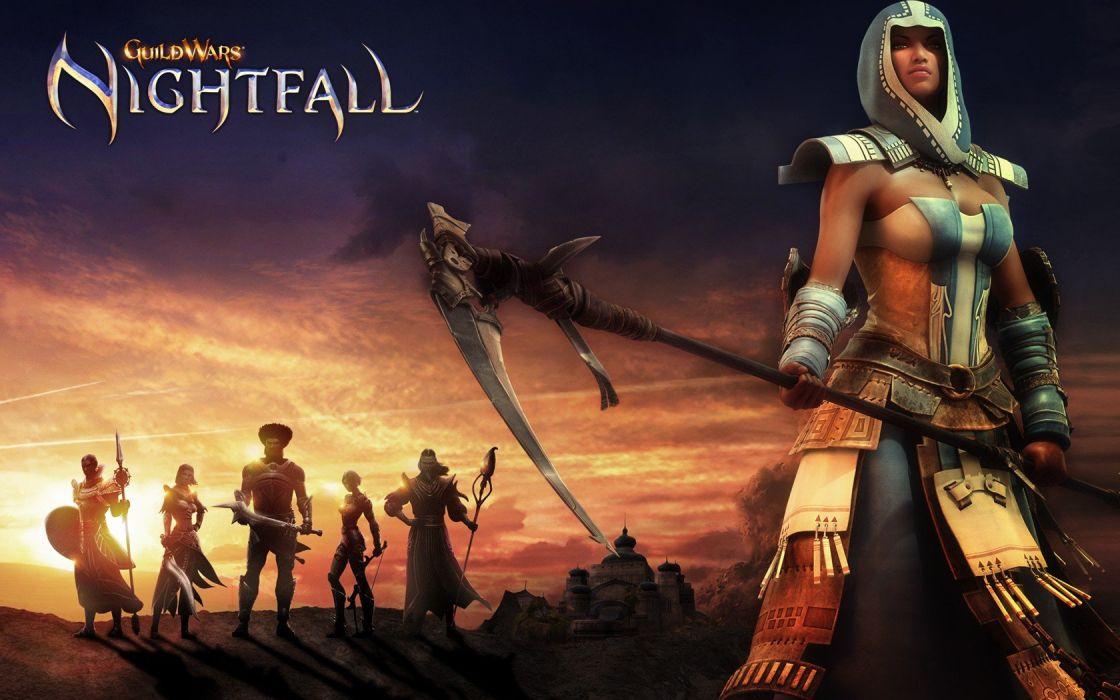video games Guild Wars wallpaper