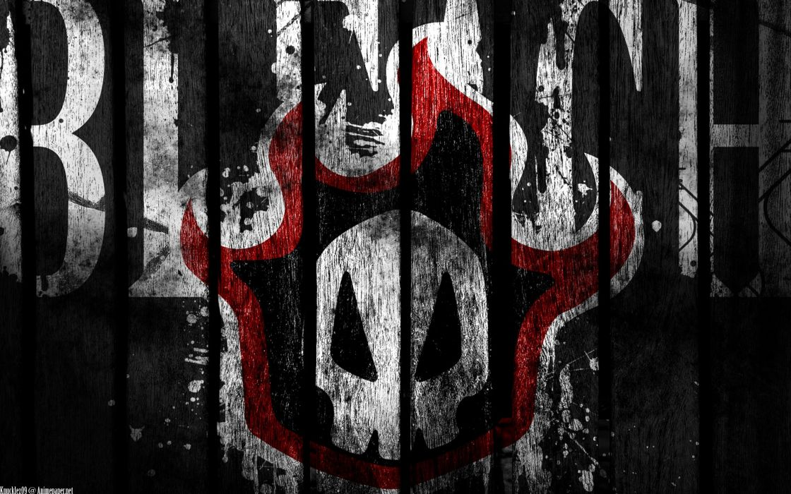Bleach logos wallpaper