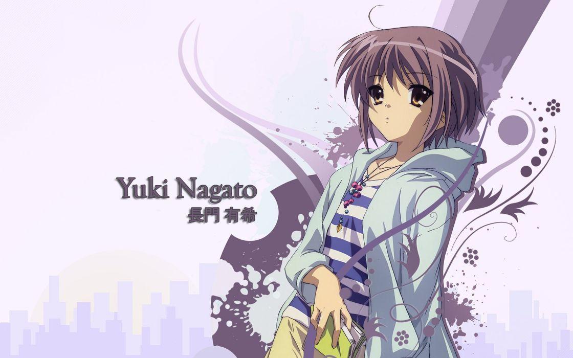 Nagato Yuki The Melancholy of Haruhi Suzumiya wallpaper