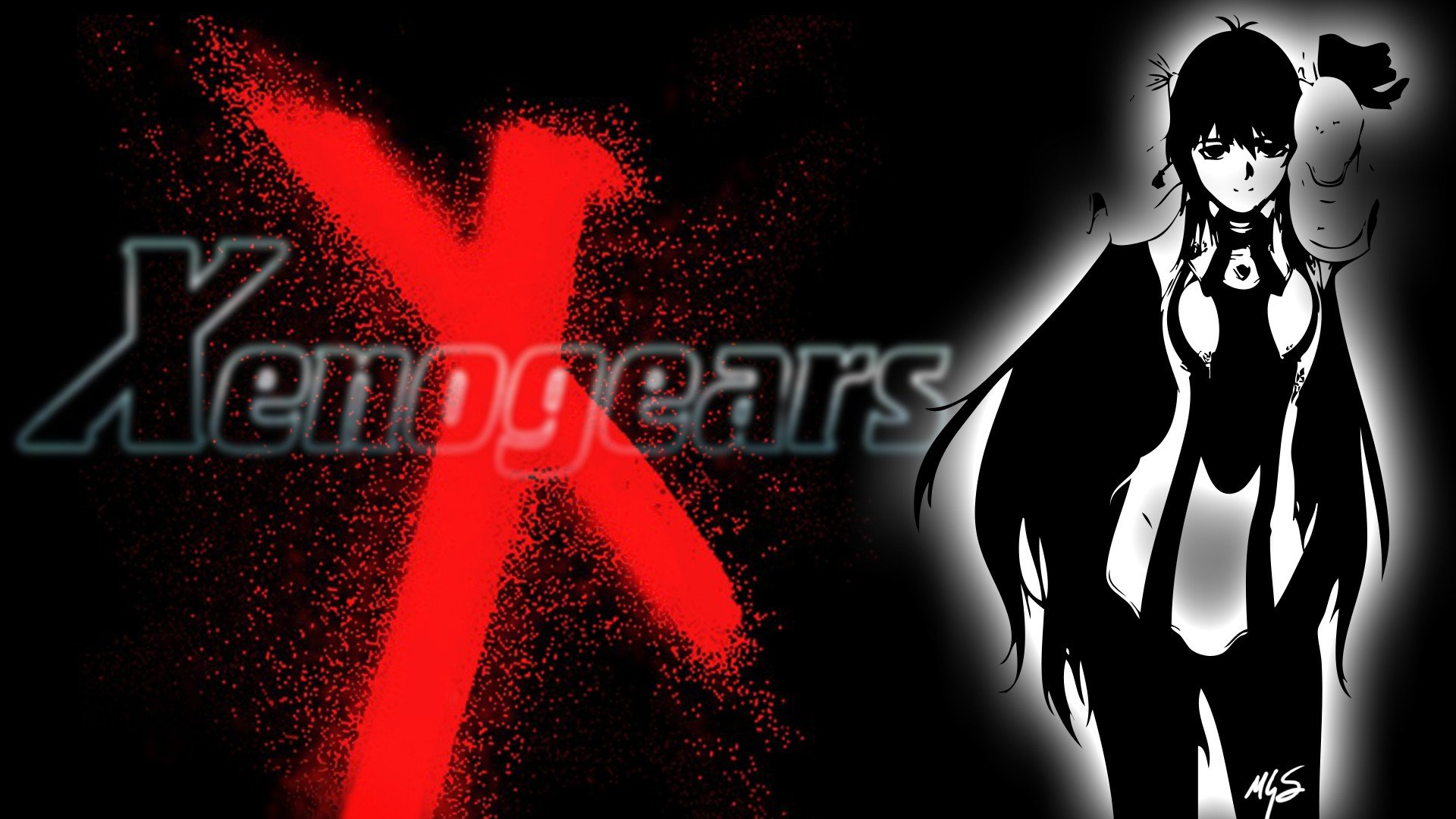 games RPG Xenogears anime Elhaym Van Houten Elly anime girls wallpaperXenogears Wallpaper