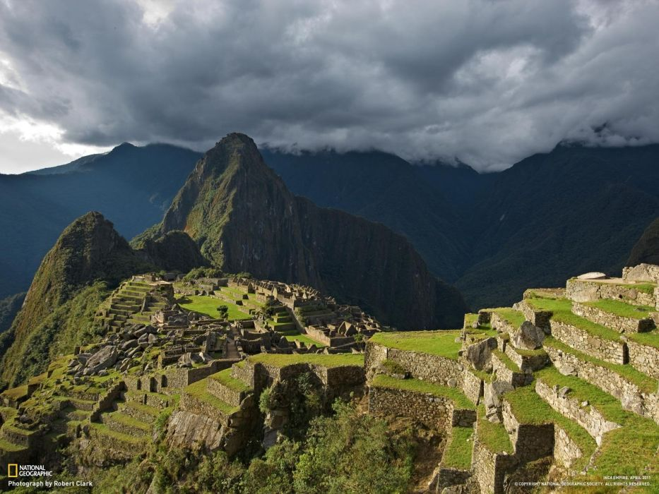 National Geographic ancient Machu Picchu wallpaper