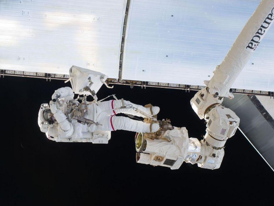 NASA space walk wallpaper