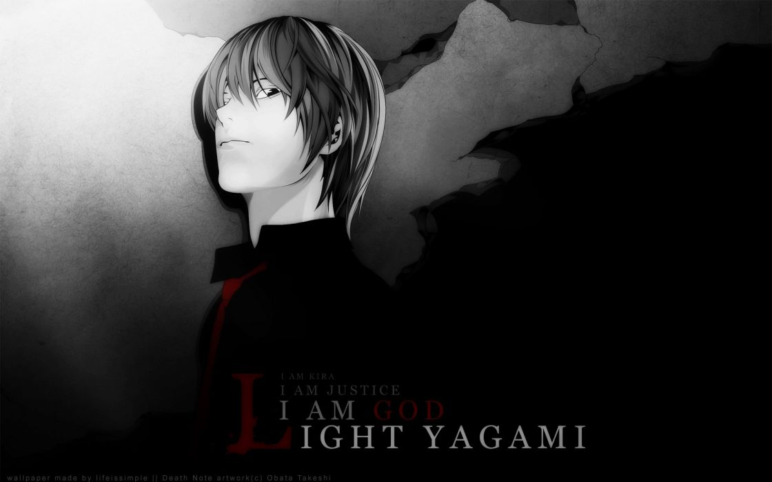 Death Note Yagami Light wallpaper
