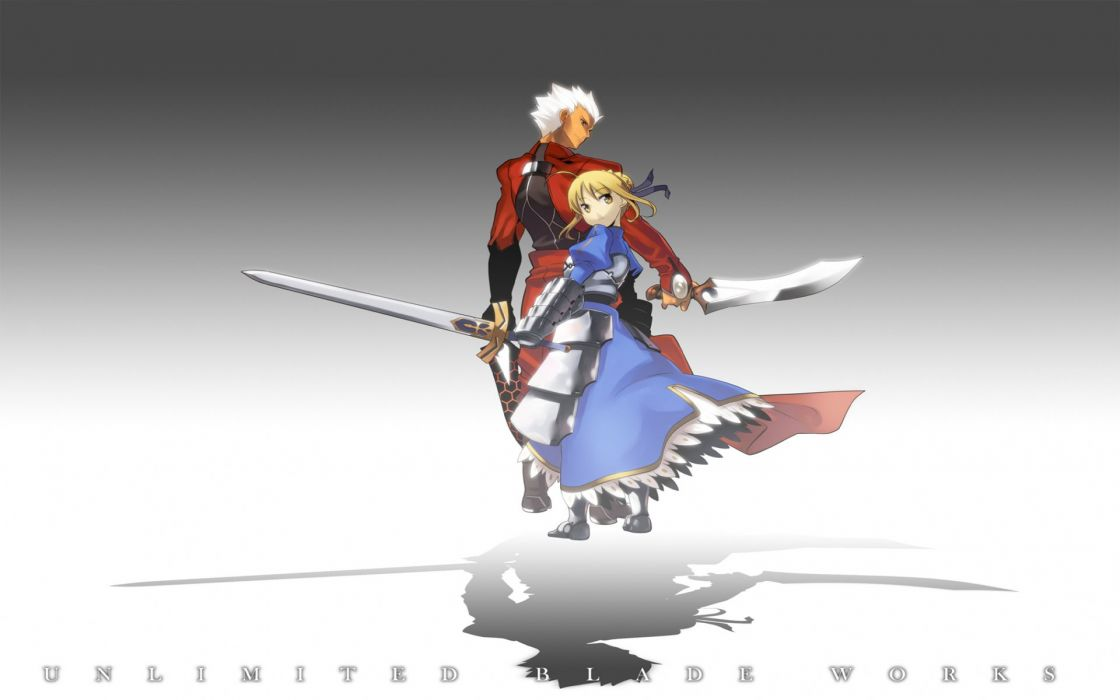 Fate/Stay Night Type-Moon Saber  Archer (Fate/Stay Night) Fate series wallpaper