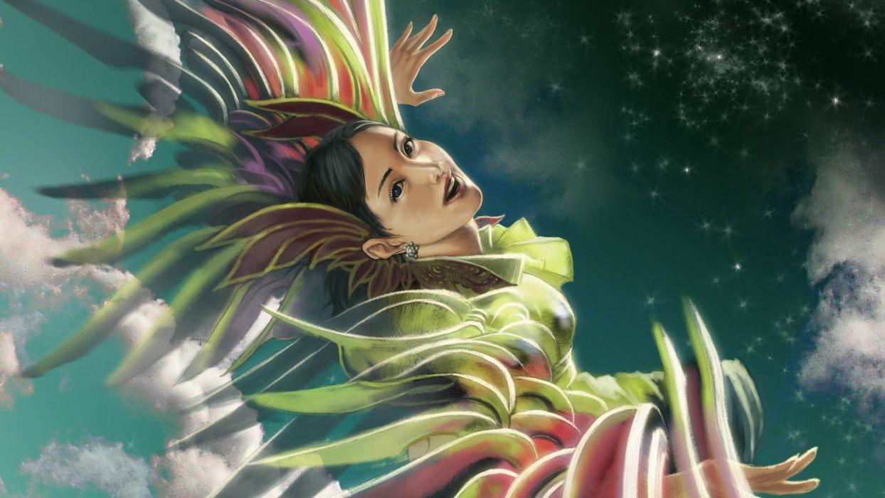 fantasy fantasy art 3D girls wallpaper