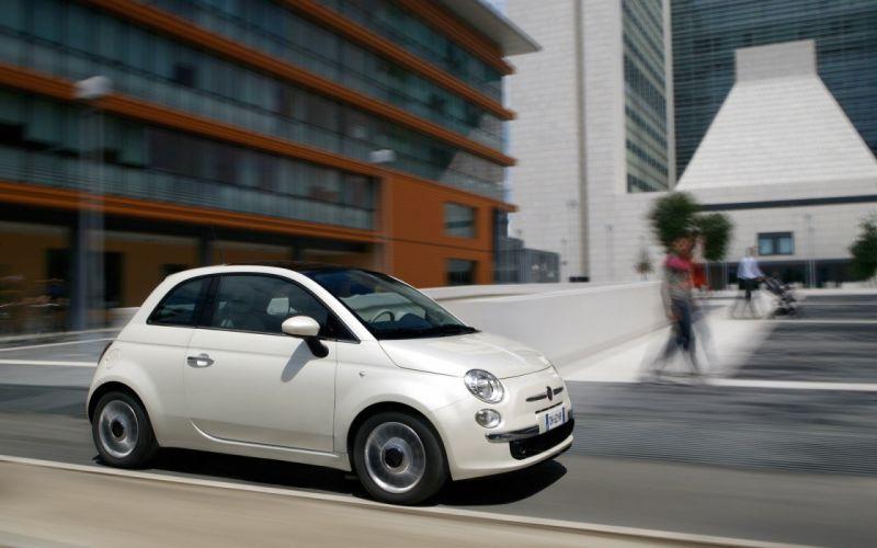 cars Fiat vehicles Fiat 500 widescreen wallpaper