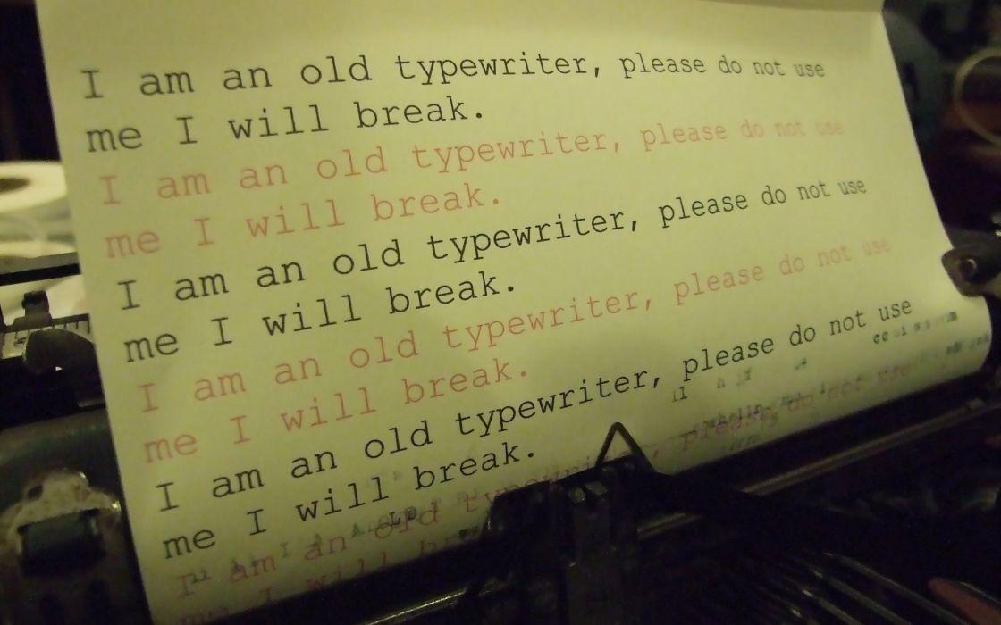 typewriters wallpaper