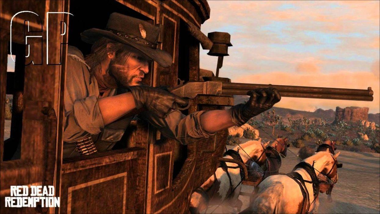 RED DEAD REDEMPTION western action adventure (7) wallpaper