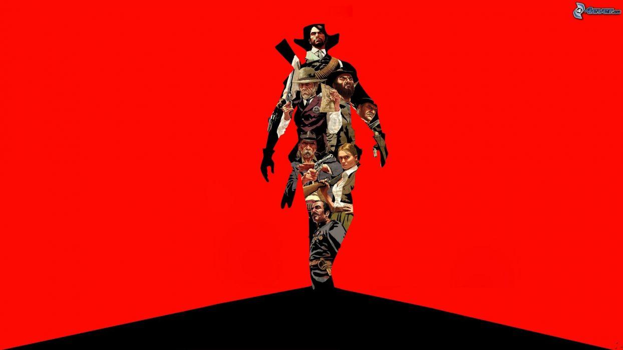 RED DEAD REDEMPTION western action adventure (12) wallpaper