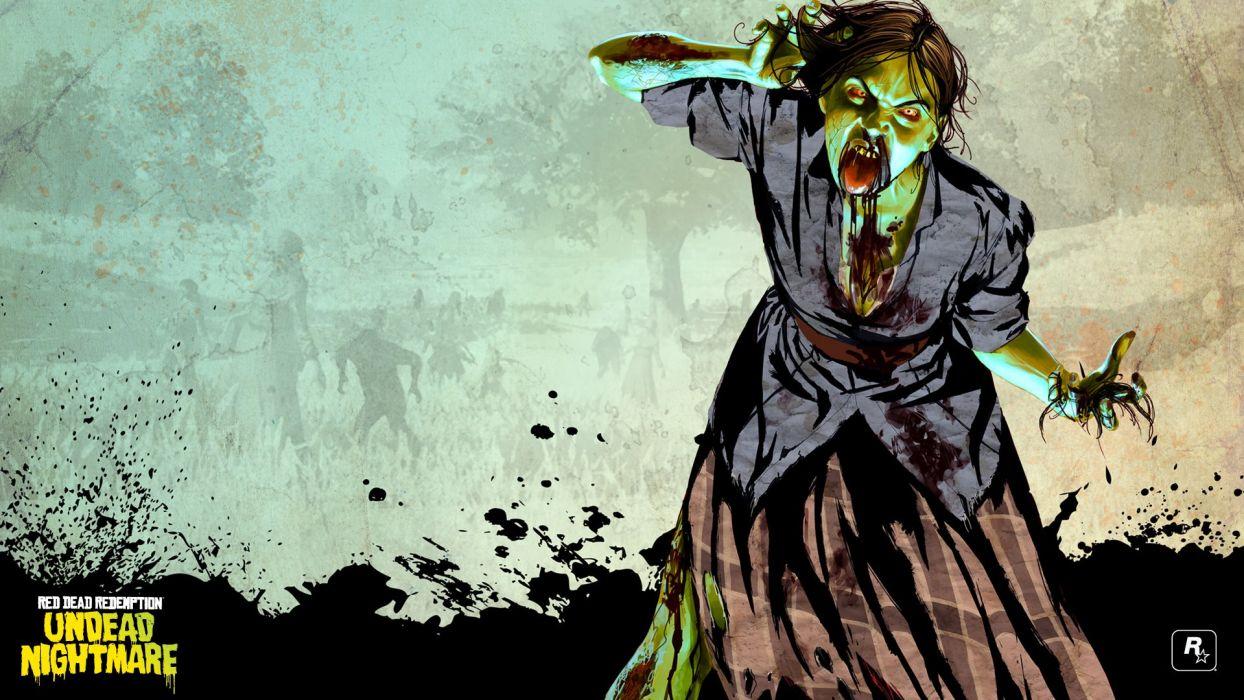RED DEAD REDEMPTION western action adventure (13) wallpaper