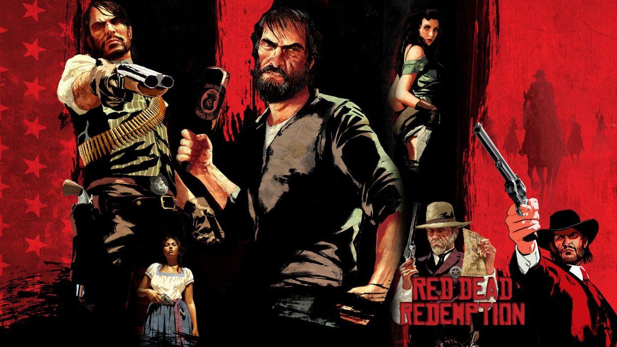 RED DEAD REDEMPTION western action adventure (17) wallpaper