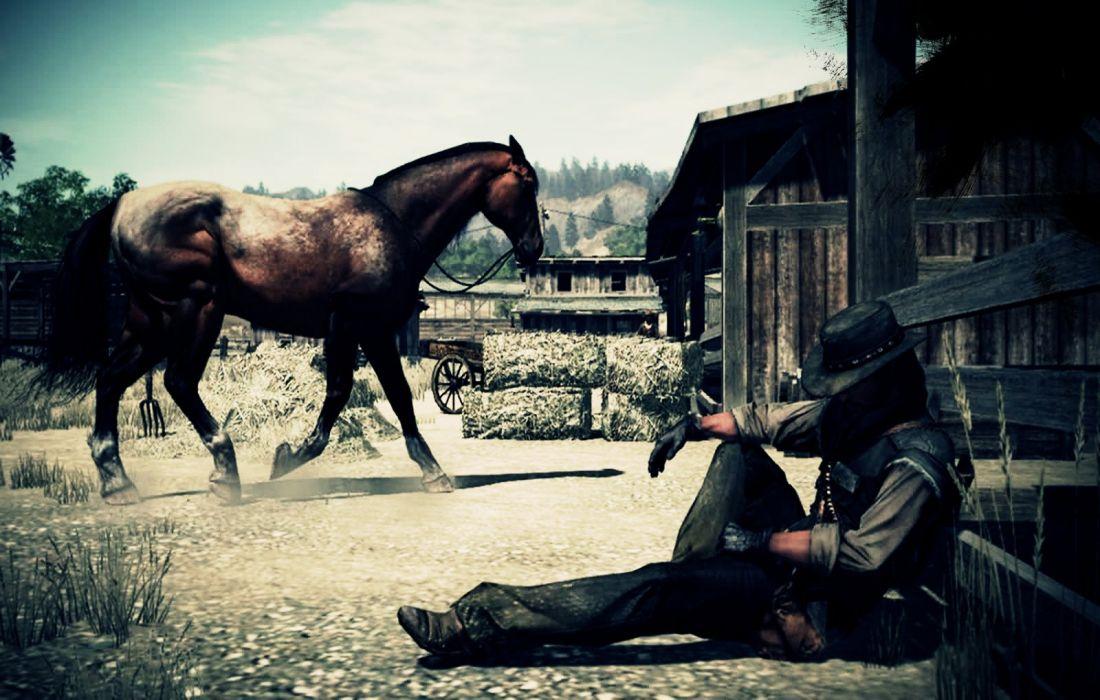 RED DEAD REDEMPTION western action adventure (21) wallpaper