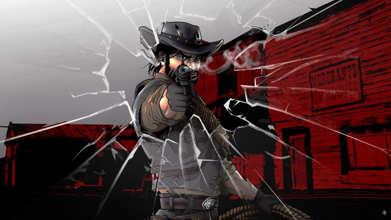 RED DEAD REDEMPTION western action adventure (34) wallpaper