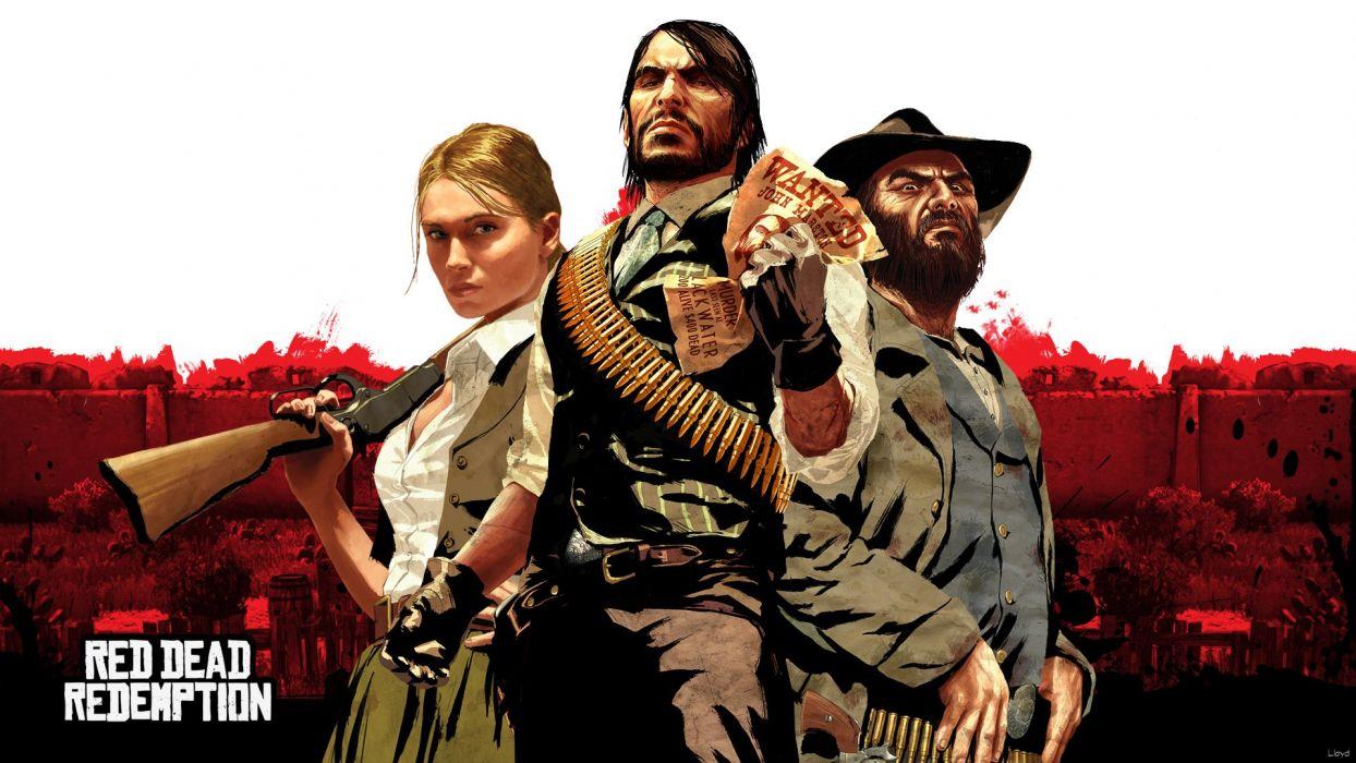 RED DEAD REDEMPTION western action adventure (35) wallpaper