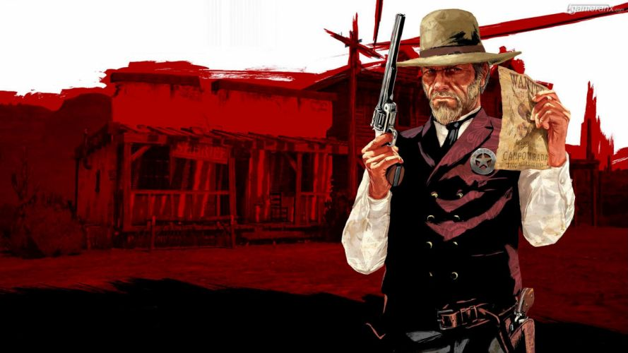 RED DEAD REDEMPTION western action adventure (41) wallpaper