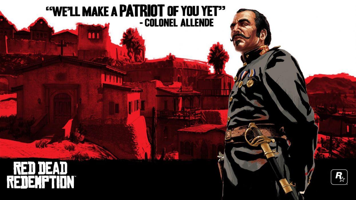 RED DEAD REDEMPTION western action adventure (48) wallpaper
