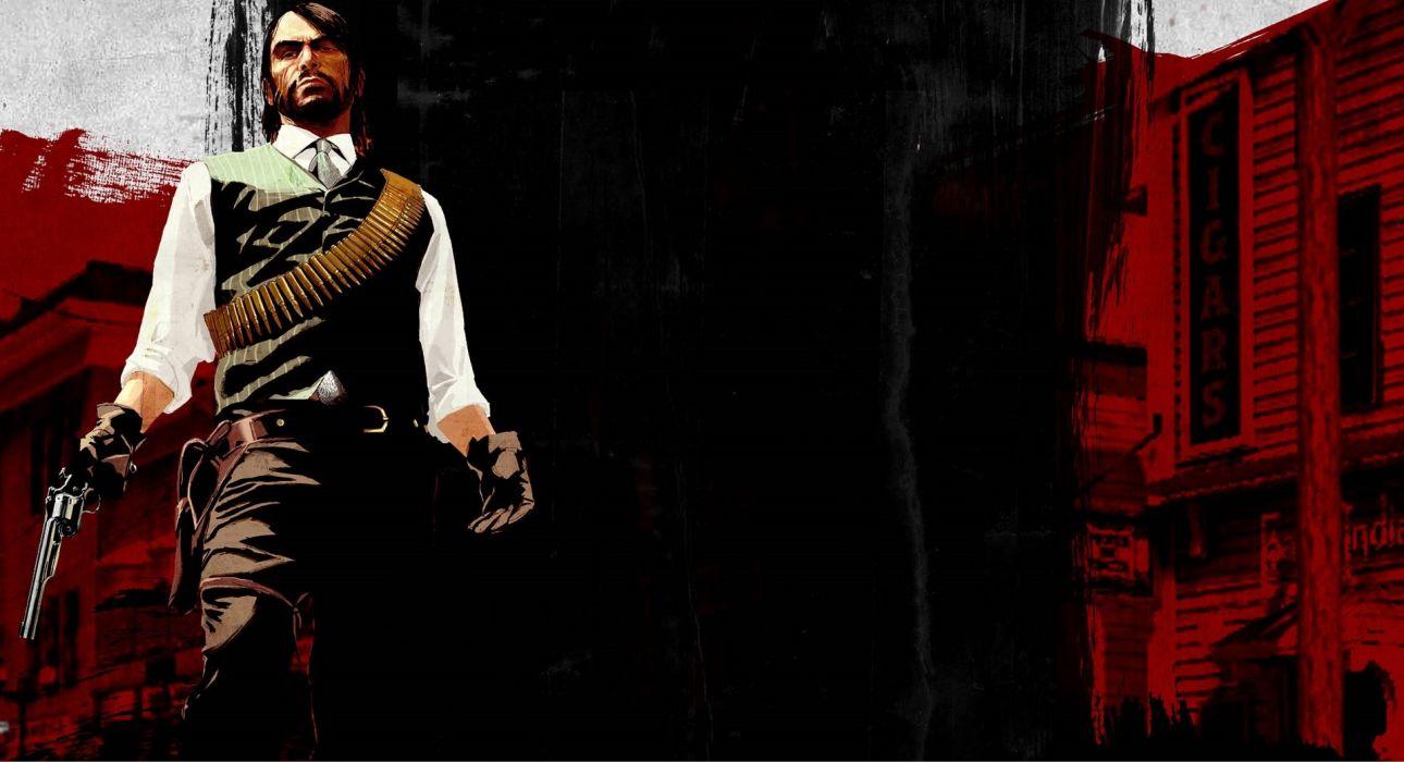 RED DEAD REDEMPTION western action adventure (62) wallpaper
