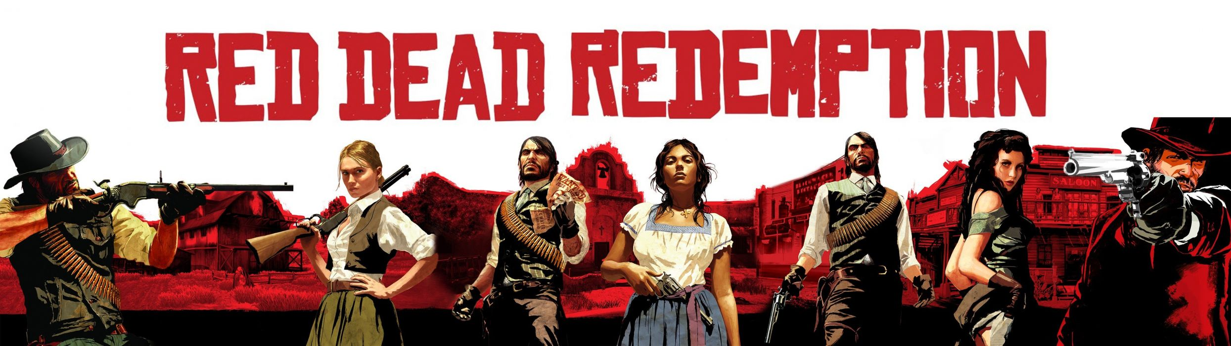 RED DEAD REDEMPTION western action adventure (64) wallpaper
