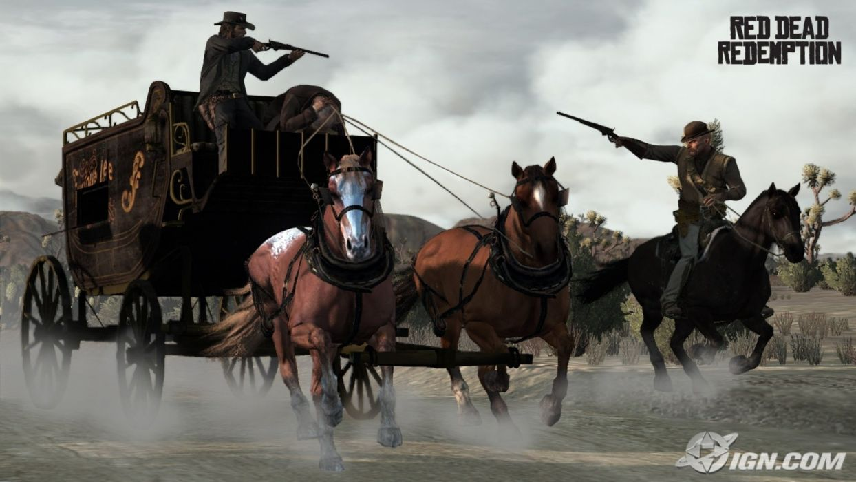 RED DEAD REDEMPTION western action adventure (68) wallpaper