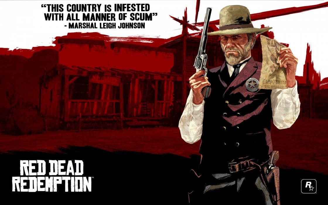 RED DEAD REDEMPTION western action adventure (71) wallpaper