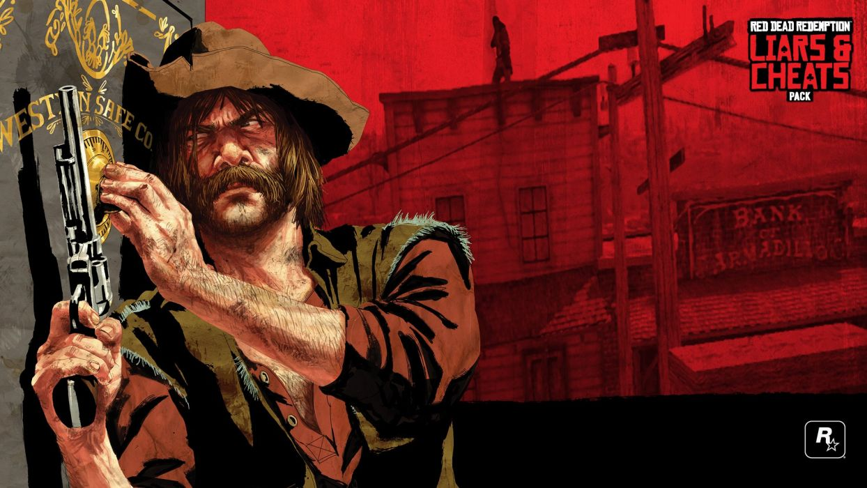 RED DEAD REDEMPTION western action adventure (80) wallpaper