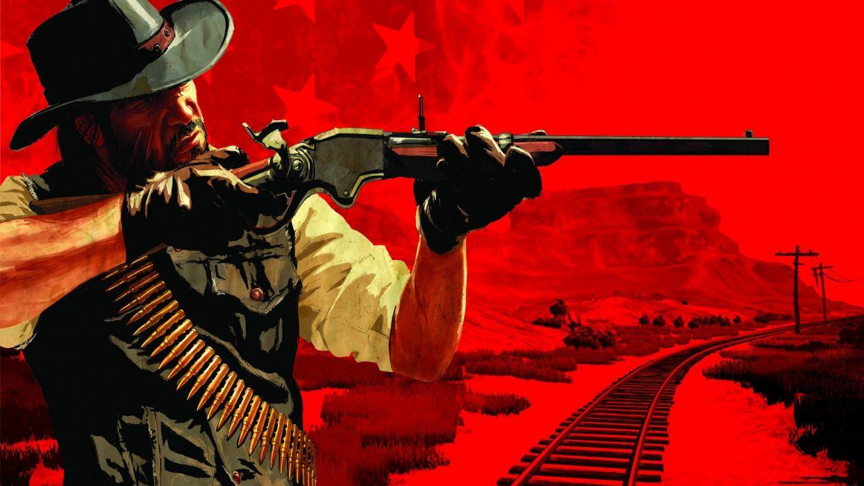 RED DEAD REDEMPTION western action adventure (83) wallpaper