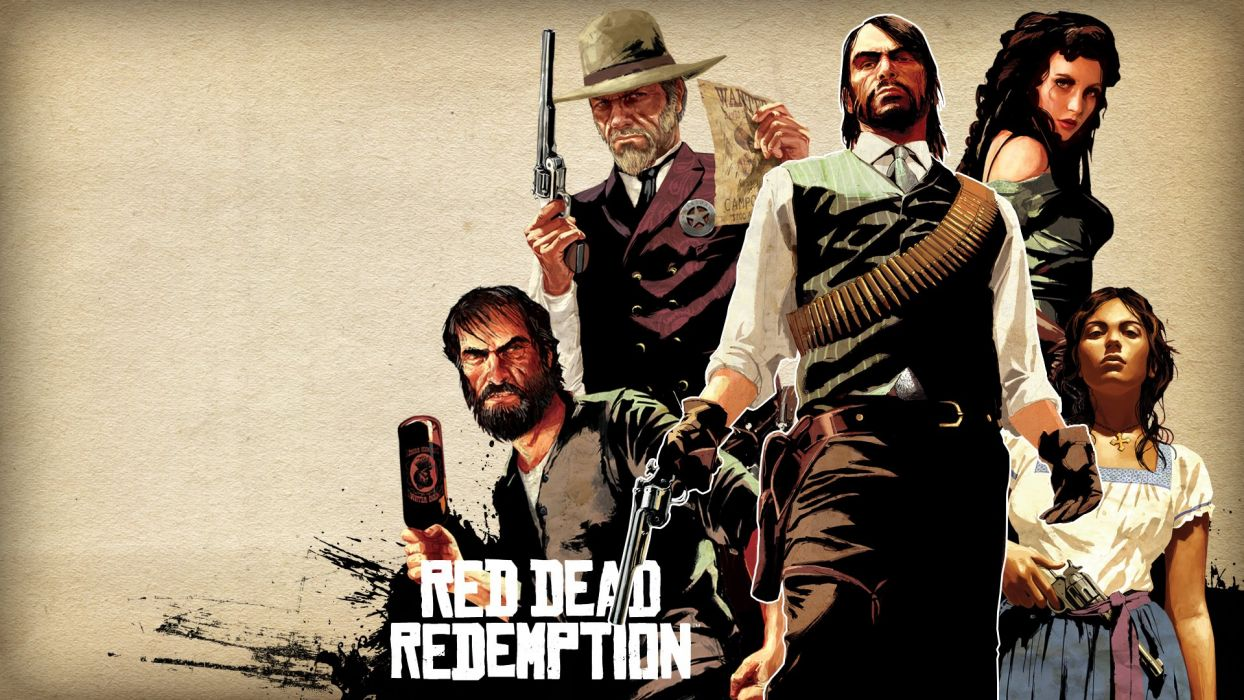 RED DEAD REDEMPTION western action adventure (86) wallpaper