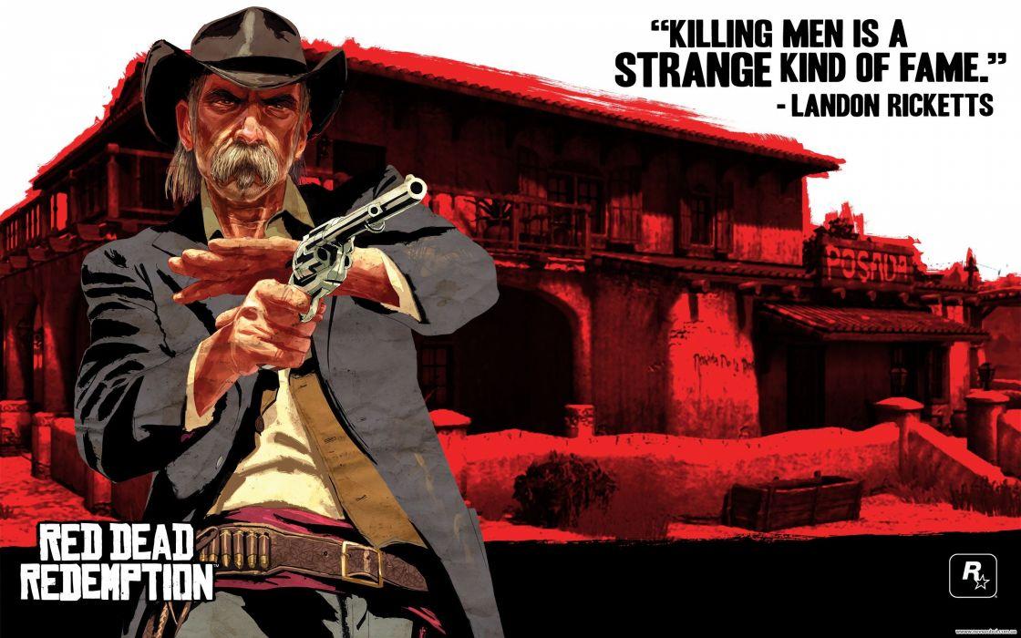 RED DEAD REDEMPTION western action adventure (97) wallpaper