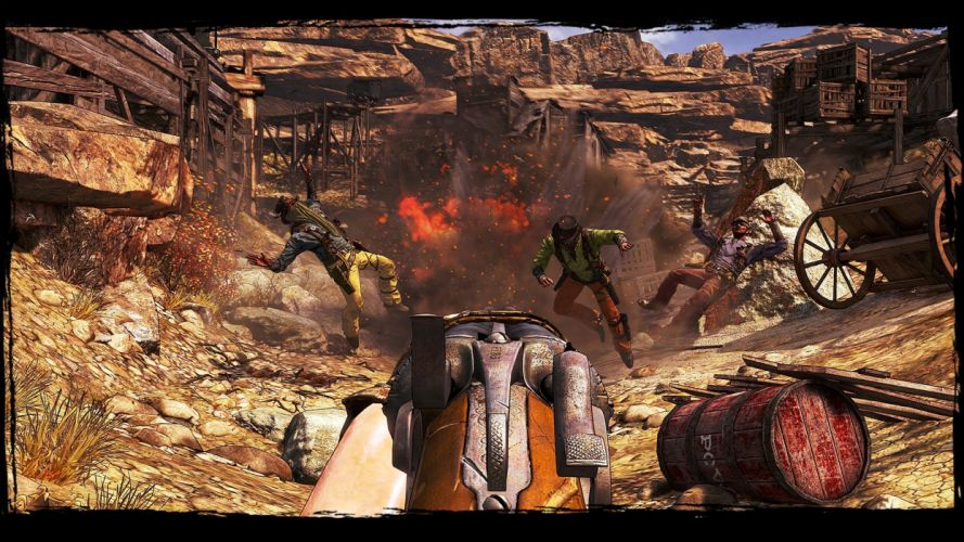 CALL OF JUAREZ action adventure western (19) wallpaper