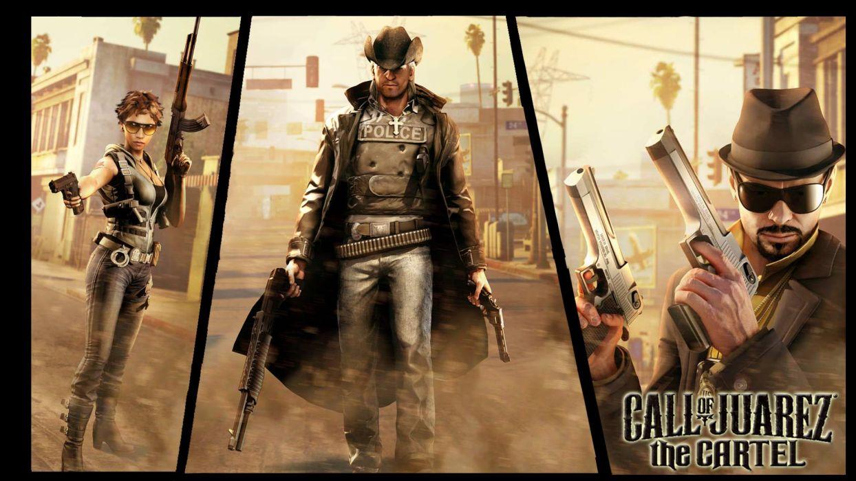 CALL OF JUAREZ action adventure western (88) wallpaper
